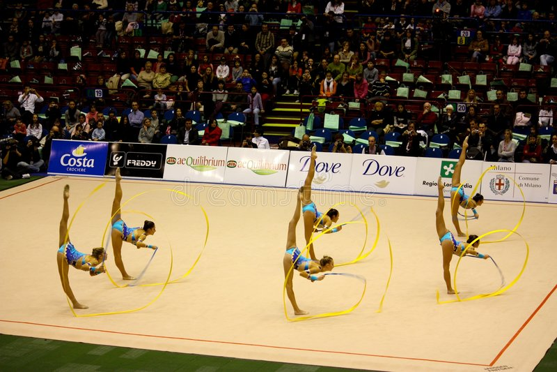 Download Milan Gymnastic Grand Prix 2008 Editorial Photography - Image: 7192622