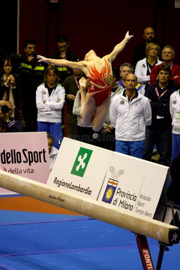 Milan Gymnastic Grand Prix 2008 Editorial Image