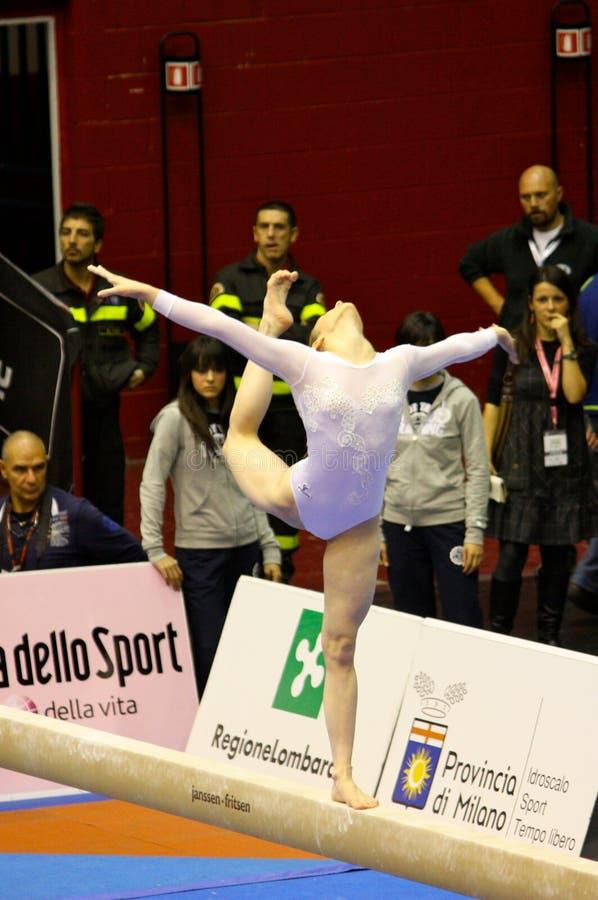 Download Milan Gymnastic Grand Prix 2008 Editorial Stock Photo - Image: 7196288