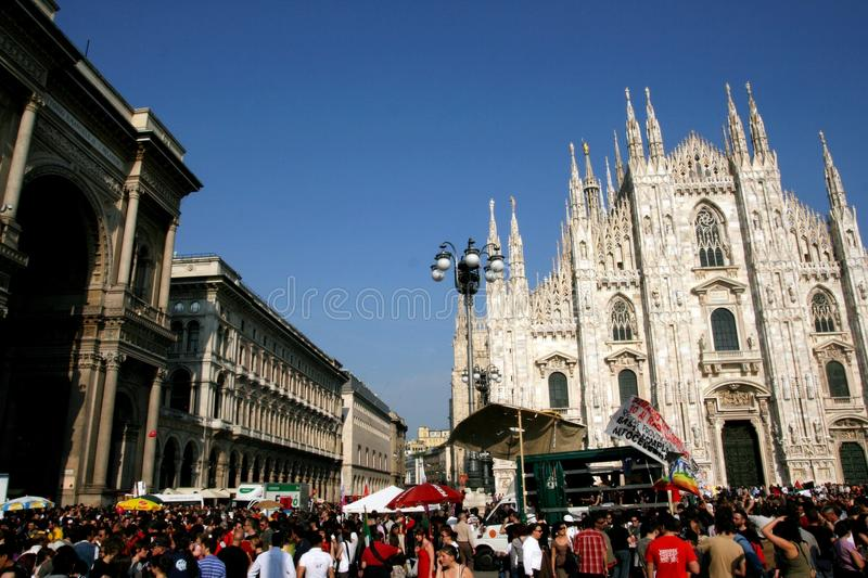 Download Milan, Italian Liberation Day Political Protest Editorial Photography - Image: 14083777