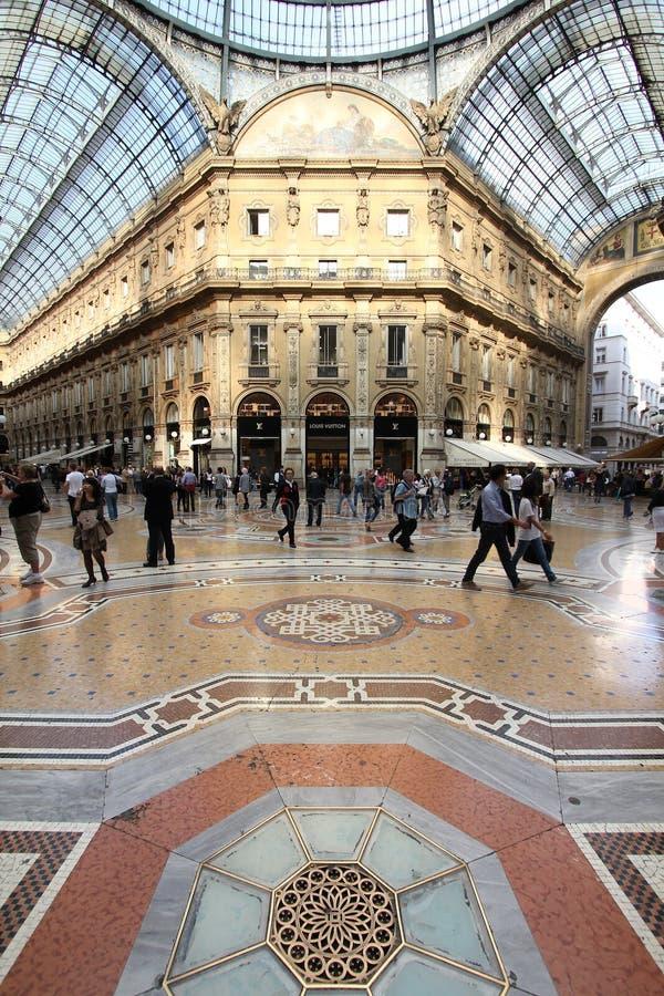 Milan Italien arkivbilder
