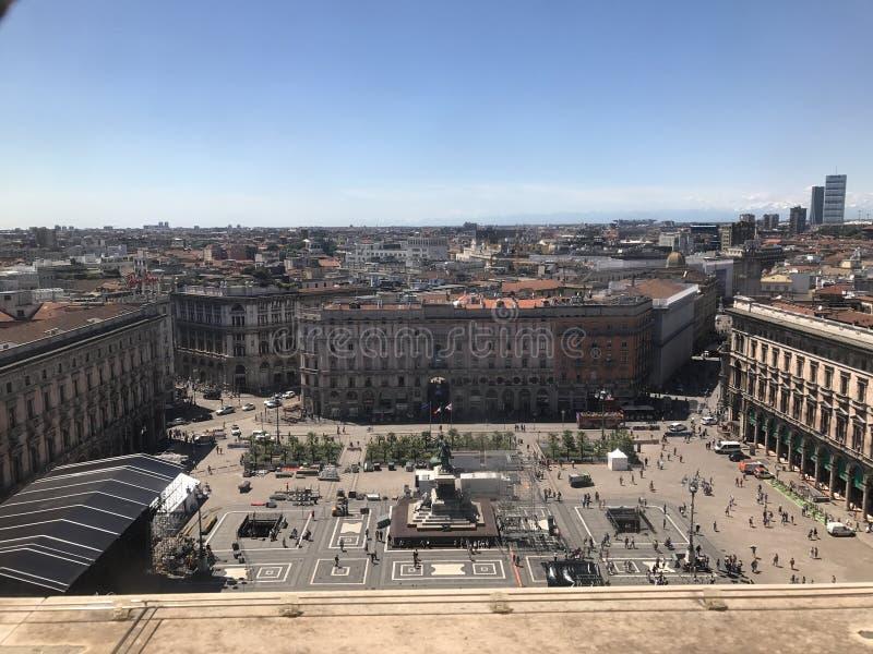 Milan Italien arkivfoto