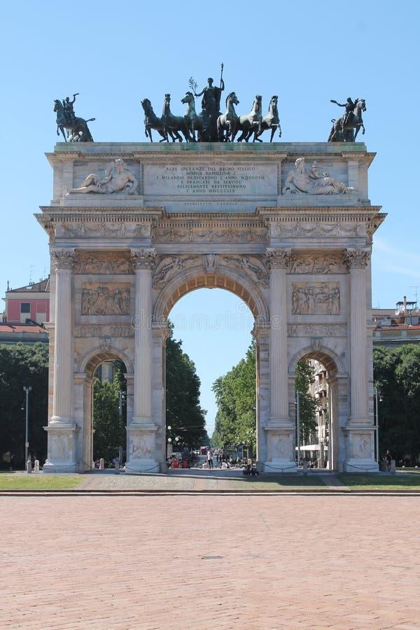 Milan Italien royaltyfri fotografi