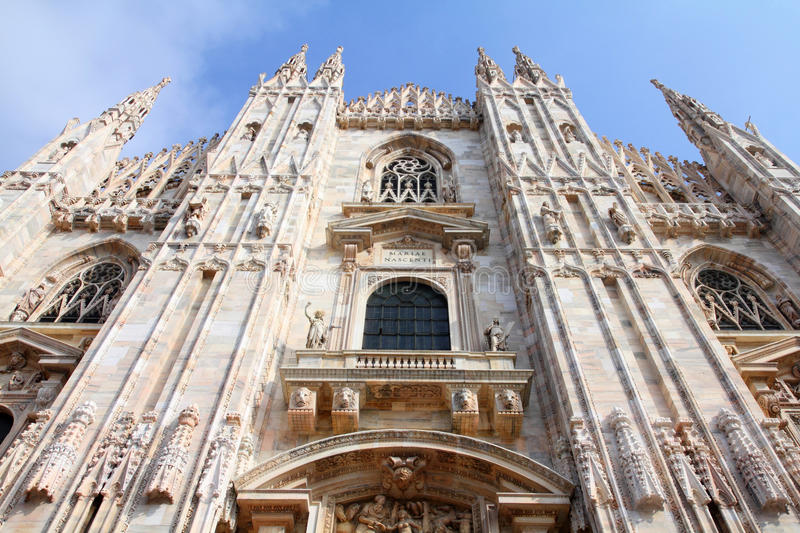 Download Milan, Italy stock image. Image of archdiocese, facade - 22928359