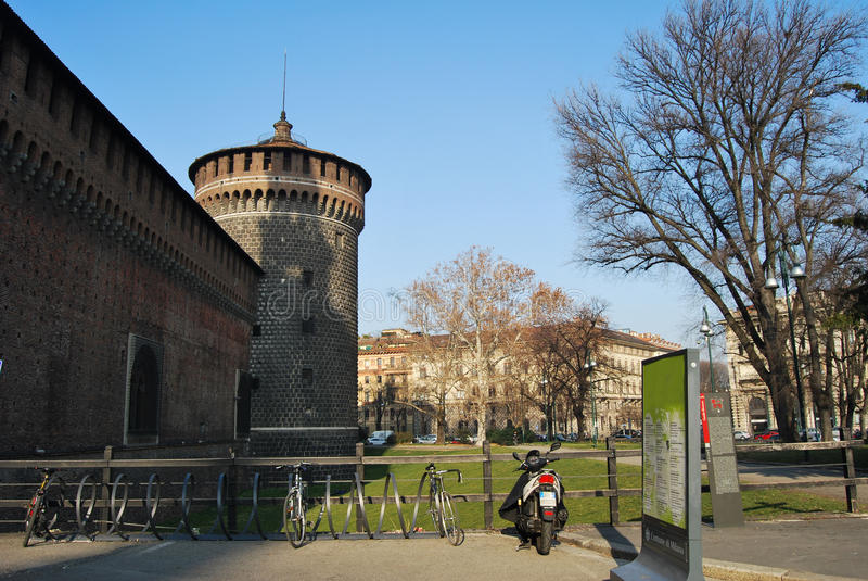 Download Milan, Italy stock photo. Image of monument, cathedral - 24338976