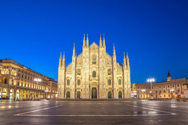 Milan Italy alla cattedrale del duomo di Milano immagine stock libera da diritti