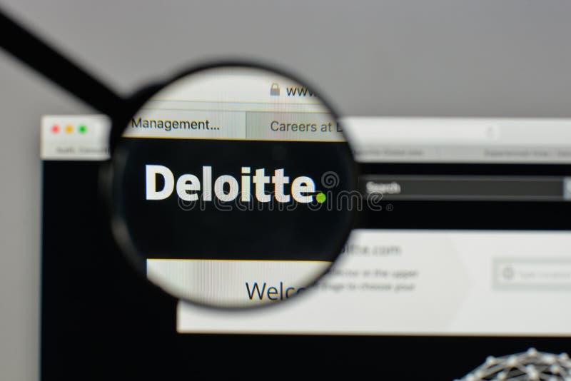 Deloitte logo editorial image  Image of consultant, intel