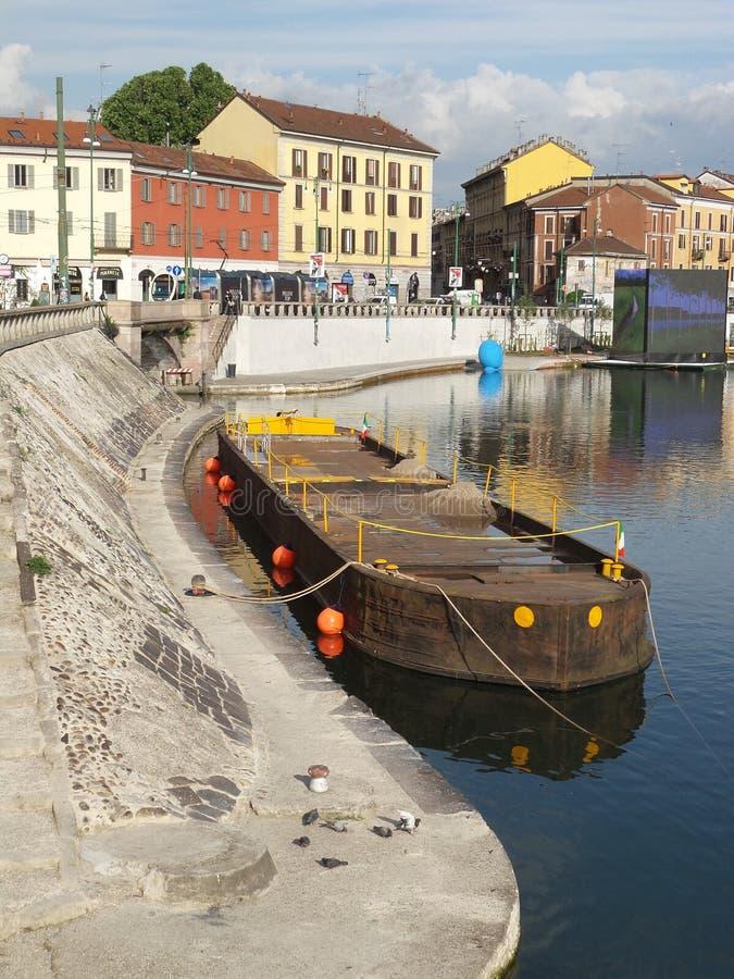 2015 Milan Italy, el Darsena fotos de archivo libres de regalías