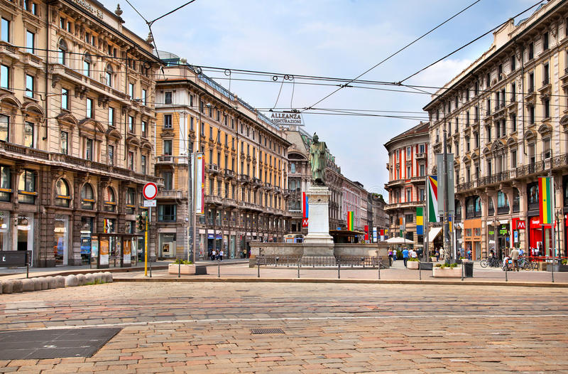 Milan, Italy royalty free stock photo