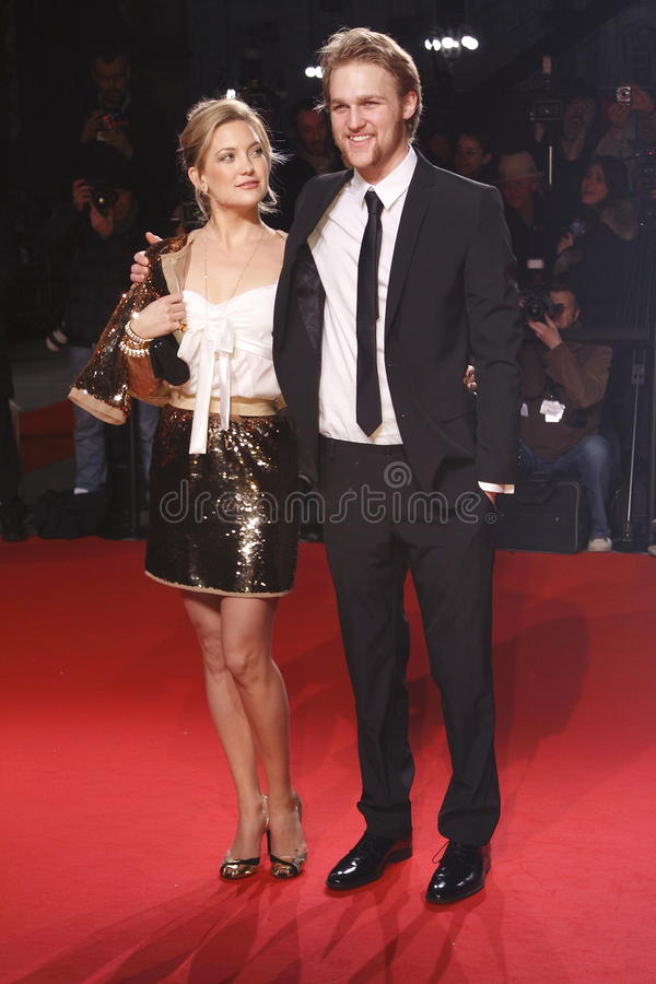Download MILAN, ITALY - MARCH 02: Kate Hudson And Wyatt Russell Attend The Extreme Beauty In Vogue Party At The Palazzina Della Ragione Dur Editorial Photo - Image: 30068961