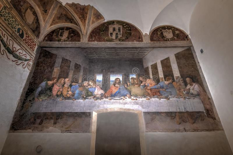 The Last Supper - Milan, Italy stock image