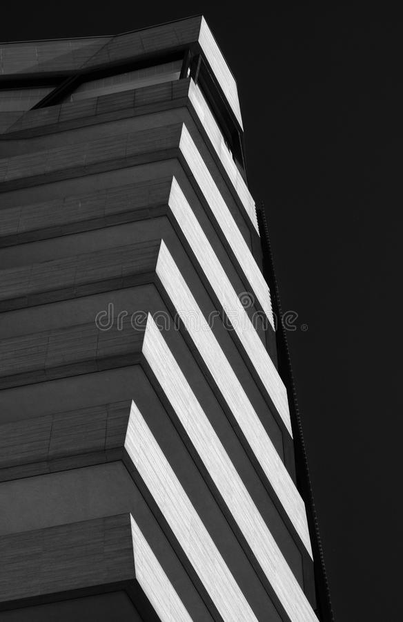 Milan Italy: modern residential buildings at Citylife royalty free stock photos