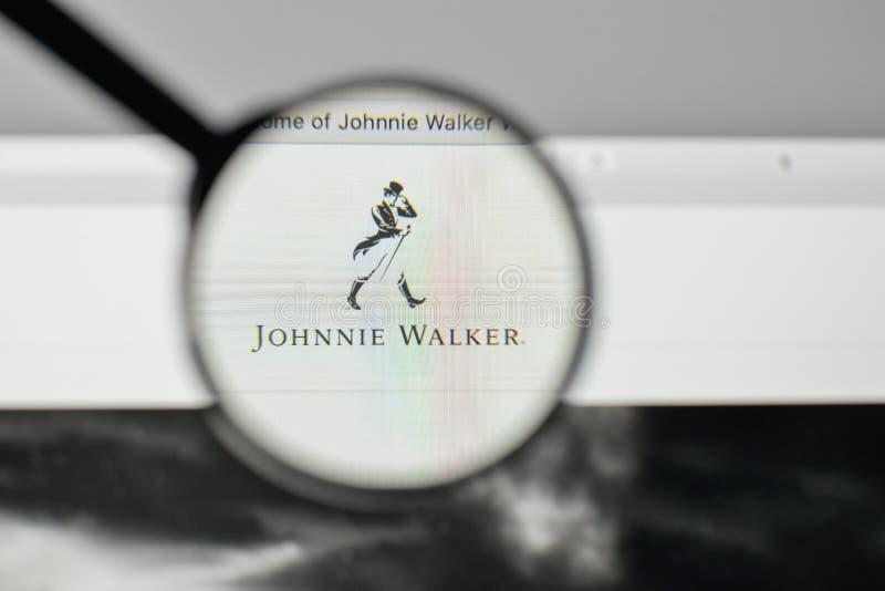 Milan Italy November 1 2017 Johnnie Walker Logo On The Webs
