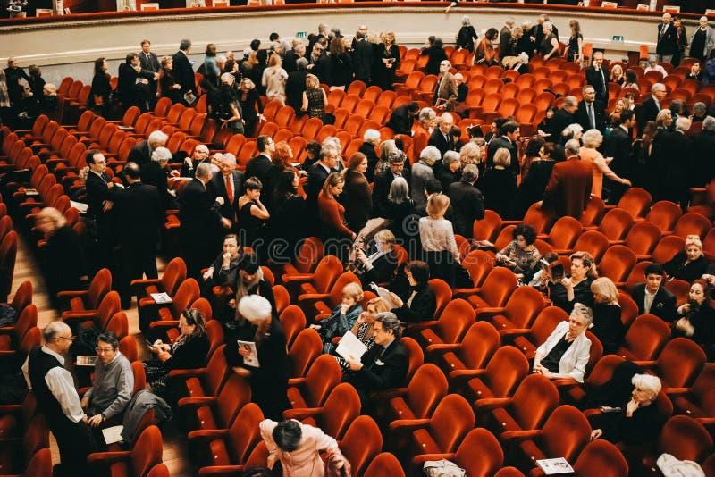 Teatro alla Scala, Scala Theater, Milan, ITALY stock photo