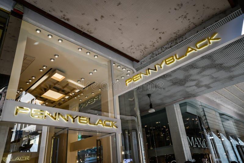 Milan, Italy - September 24, 2017: Penny Black store in Milan. royalty free stock image