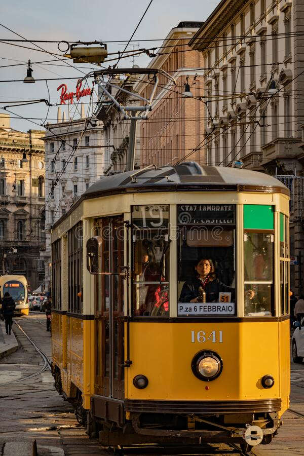 From Milan Italy. A view from Milan Italy royalty free stock photo