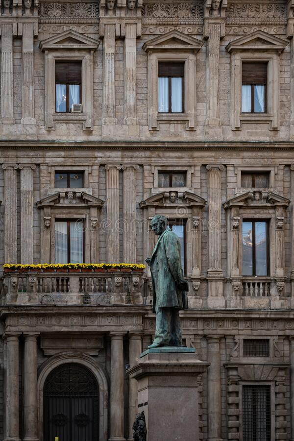 From Milan Italy. A view from Milan Italy royalty free stock photography