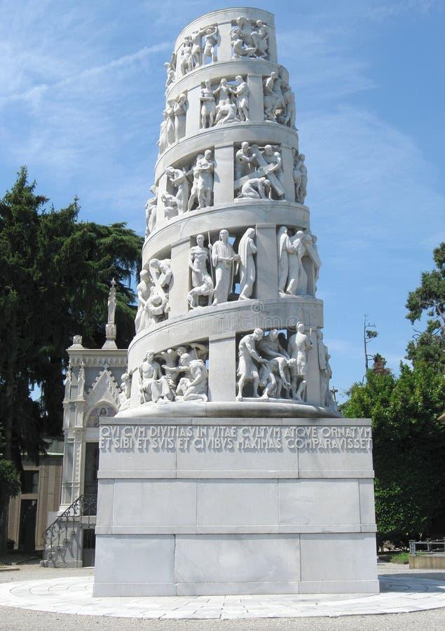Download Milan landmark stock image. Image of cemetary, milan - 25646859