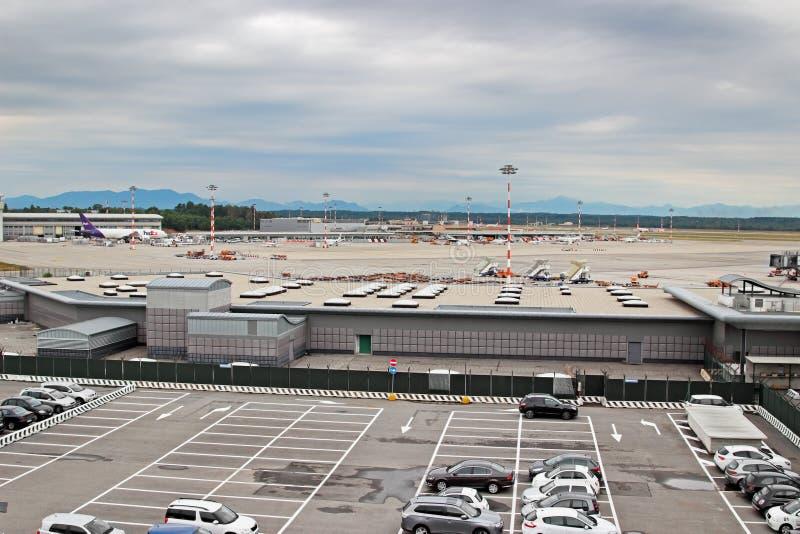Malpensa, Airport, Milan, Italy - 06 February 2019: Airbus ...