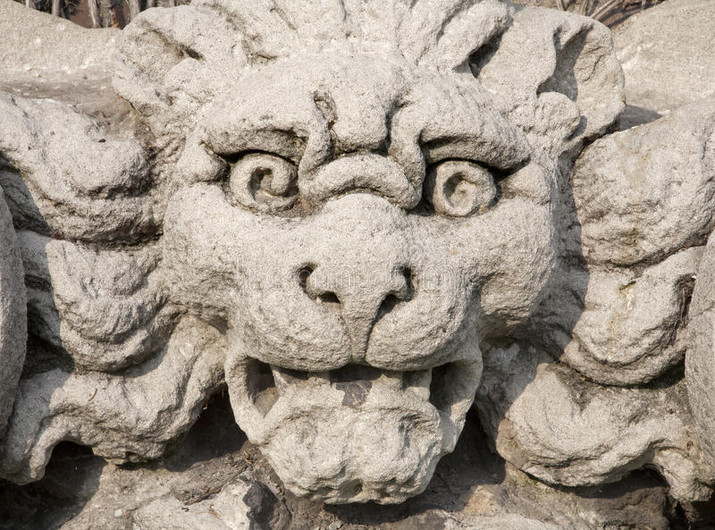 Download Milan - Monster Face From Sforza Castle Stock Image - Image: 22048269
