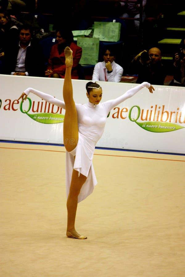 Milan Prix grand gymnastique 2008 photos libres de droits