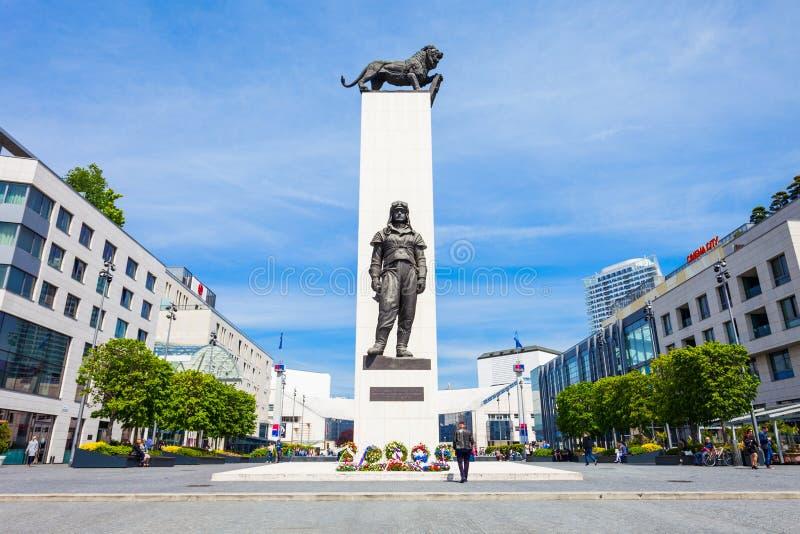Milan Rastislav Stefanik Monument stock afbeelding