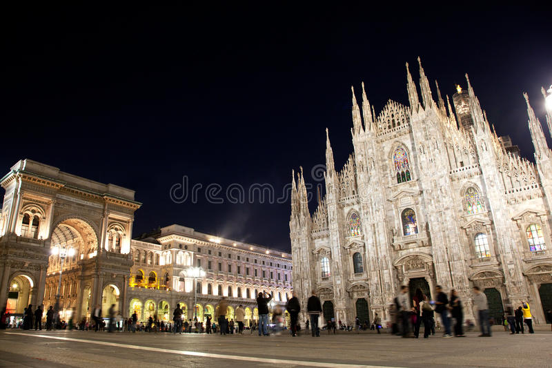 Download Milan tourist attractions stock photo. Image of gothic - 27221254