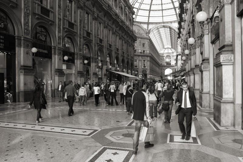 Milan - Vittorio Emanuele II royalty free stock photography