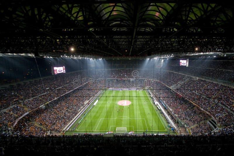 MILAN VS INTER royaltyfri foto