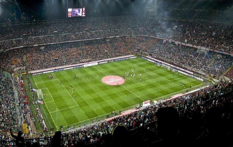 Download MILAN VS INTER editorial stock image. Image of park, match - 27586354
