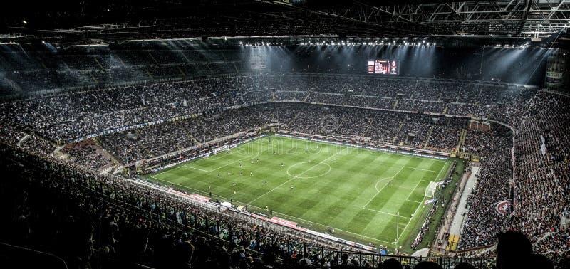 MILAN VS INTER royaltyfria bilder