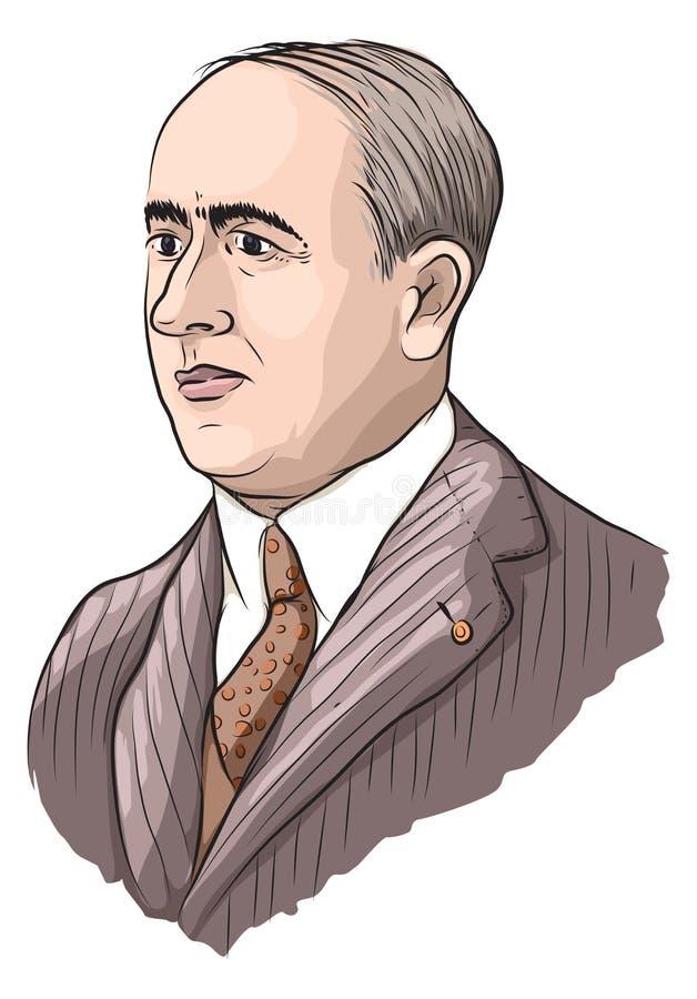 Milankovic stock illustratie