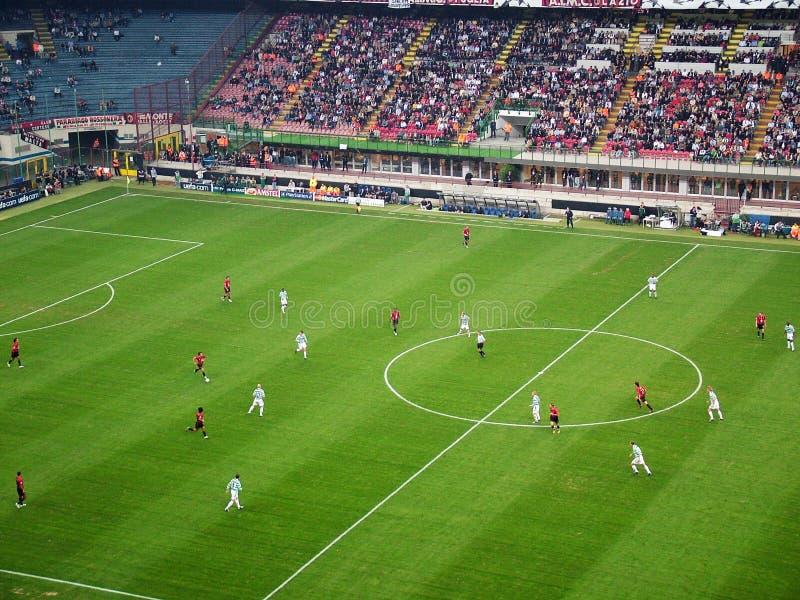 Milano-Céltico imagen de archivo