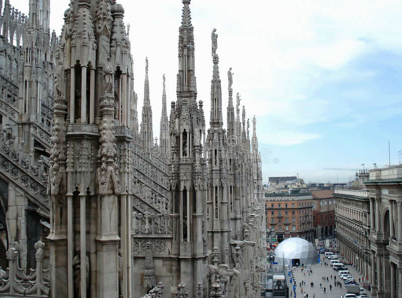 Download Milano cathedral stock photo. Image of vacation, europe - 5344508