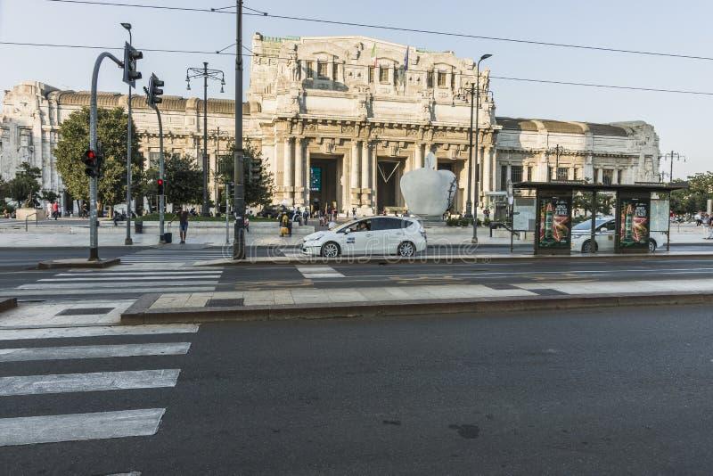 Milano Centrale railway station stock photos
