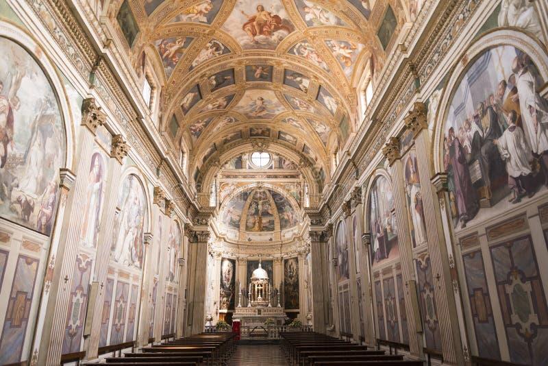 Milano: Certosa di Garegnano immagini stock