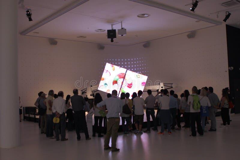 Milano expo 2015 arkivbild