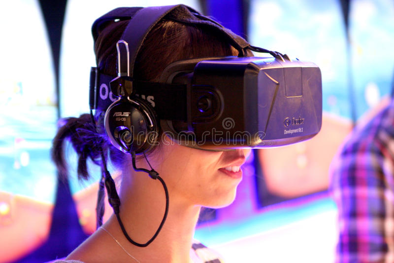 MILANO EXPO 2015. Universal exposition in Milano in 2015. China Corporate United Pavilion Virtual reality royalty free stock photos