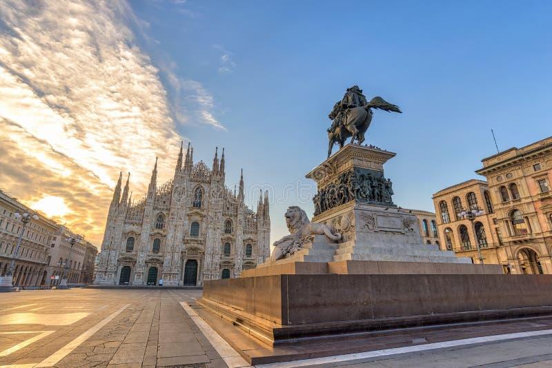 Milano Italia foto de archivo libre de regalías