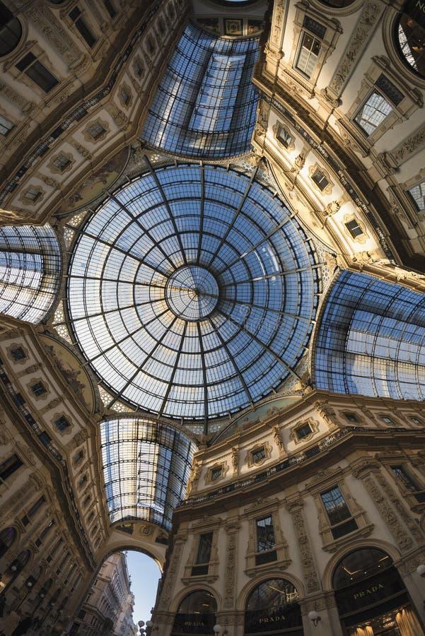 Milano (Italia): la galleria fotografia stock libera da diritti