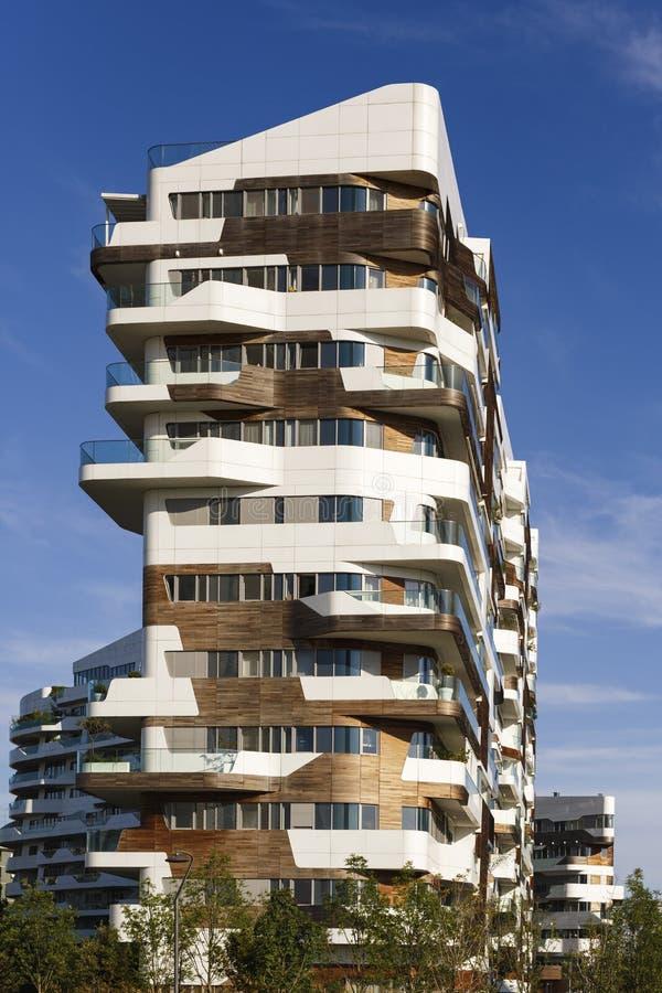 Milano italia maggio 2017 case moderne dell 39 edificio for Costo della costruzione dell edificio