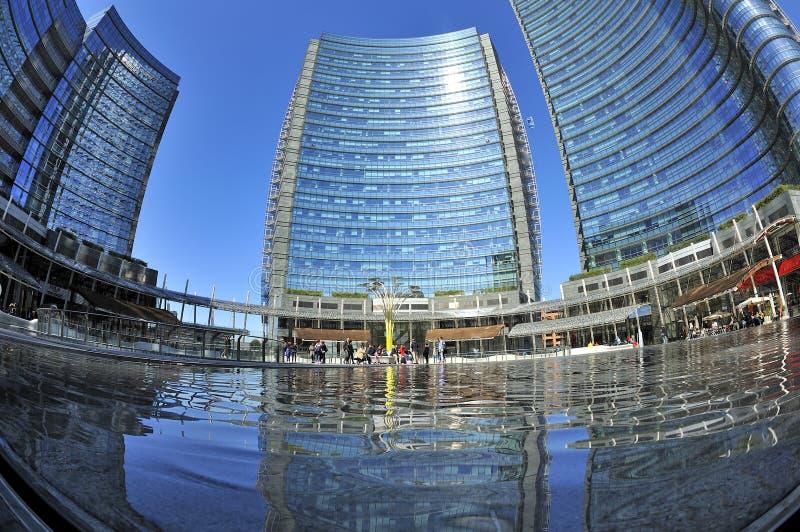 Milano italia nuovi grattacieli di porta nuova in gael - Via porta nuova milano ...