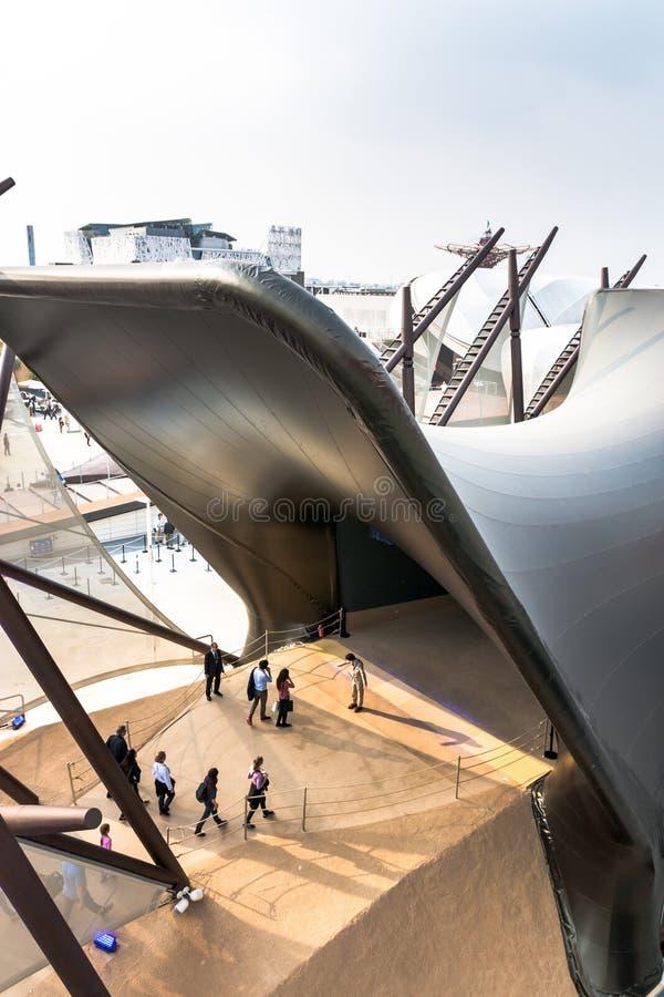 Milano 2015 - Kuwait arkivfoto