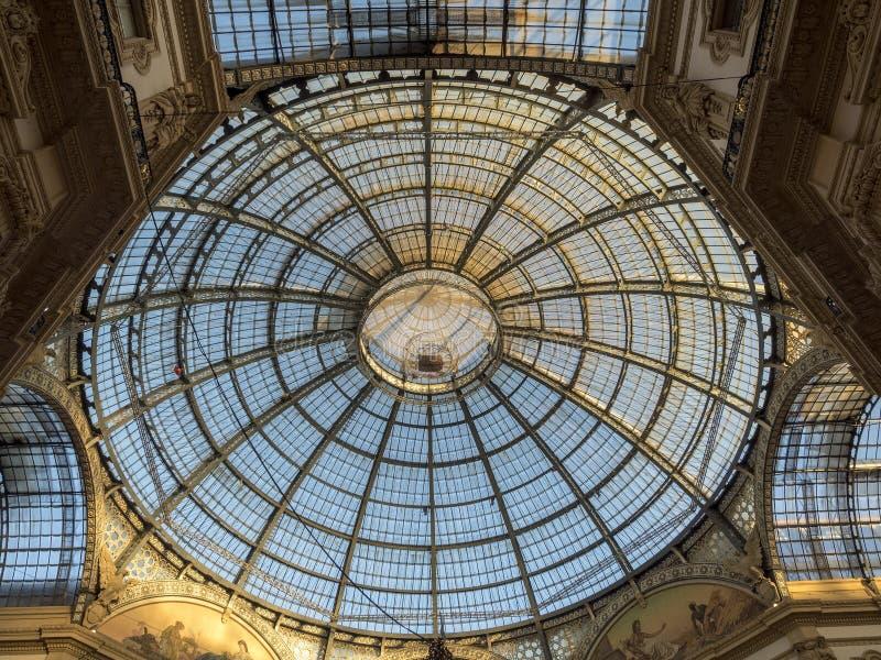 Milano: la galleria fotografia stock libera da diritti