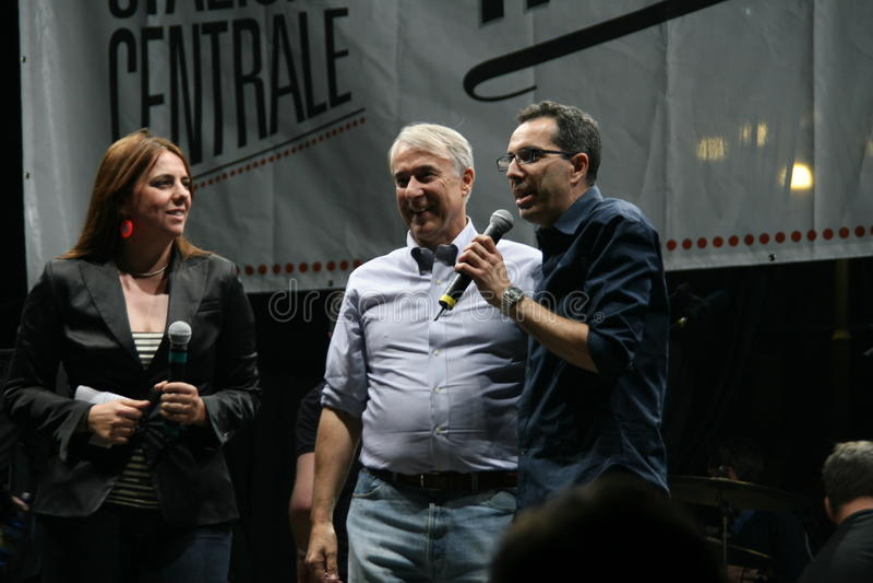 Milano Libera Tutti 10 Maggio 2011 Editorial Photography