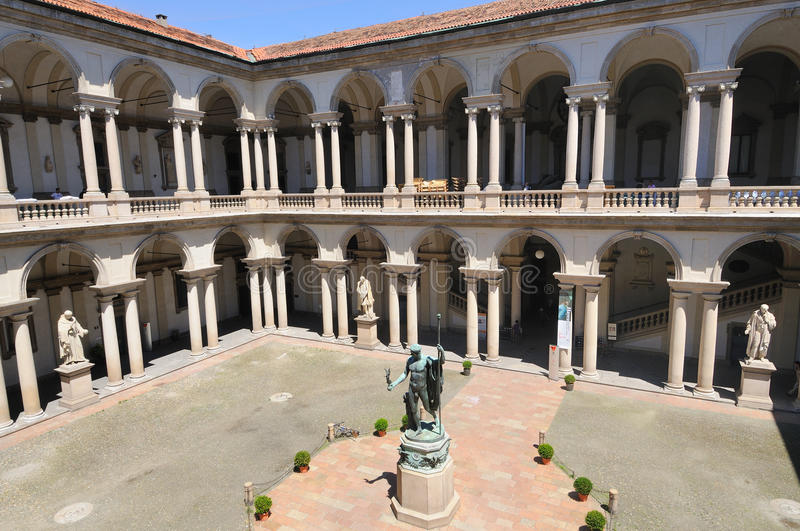 Milano - Pinacoteca di Brera - museo fotos de archivo libres de regalías