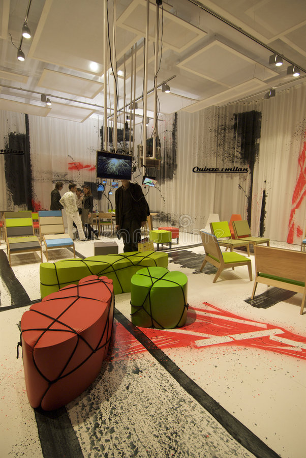 Download Milano Salone editorial stock photo. Image of creation - 4964878