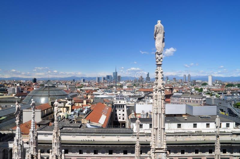 Milano Skyview fotografía de archivo