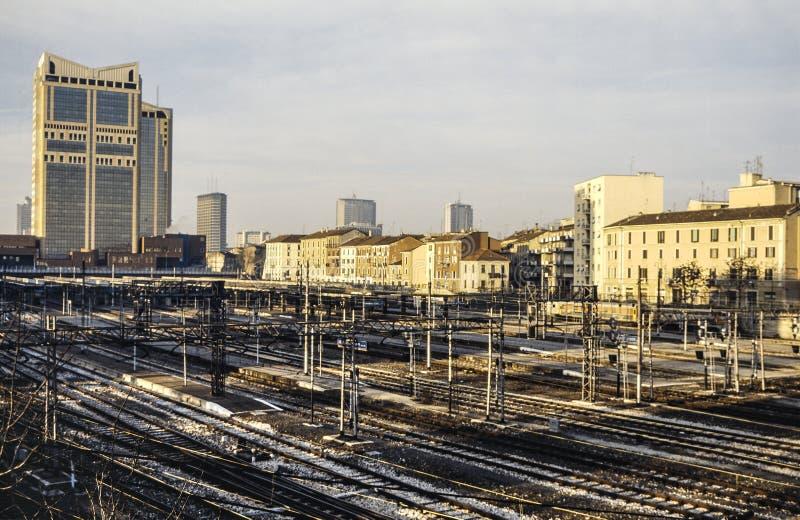 Milano stazione di porta garibaldi fotografia stock - Da porta garibaldi a milano centrale ...