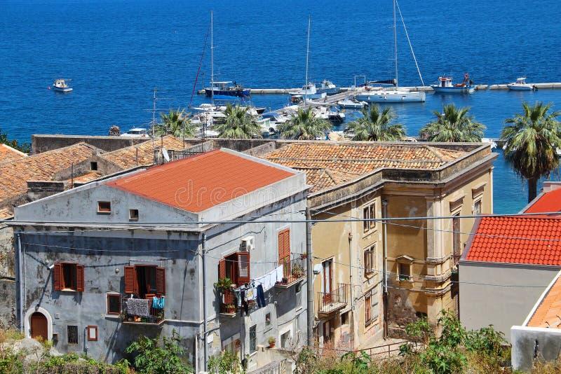 Milazzo, Sicily, Italy royalty free stock photo